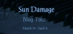 Sun Damage Blog Tour Banner