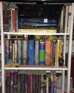 My mini bookcase.